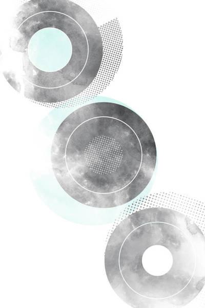 Nordic Digital Art - Scandinavian Design No 27 by Melanie Viola