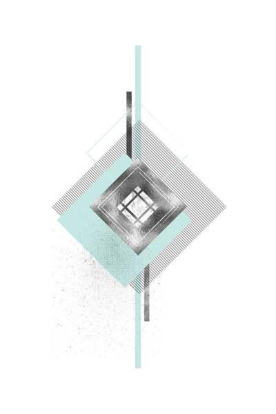 Nordic Digital Art - Scandinavian Design No 47  by Melanie Viola