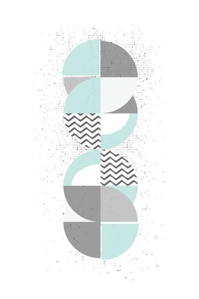 Nordic Digital Art - Scandinavian Design No 77  by Melanie Viola