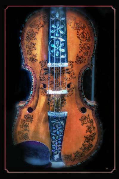 Photograph - Scandinavian Violin by Harriet Feagin