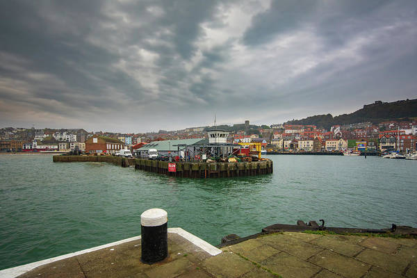 Wall Art - Mixed Media - Scarborough Harbour by Smart Aviation
