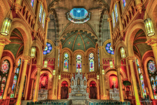 Choral Wall Art - Photograph - Scared Heart Cultural Center Roman Catholic Church Augusta Georgia Art by Reid Callaway
