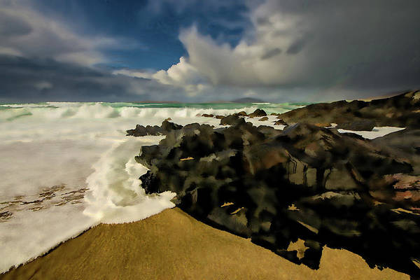 Wall Art - Mixed Media - Scarista Beach Digital Painting by Smart Aviation