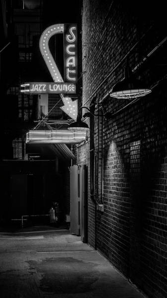 Wall Art - Photograph - Scat Jazz Alley - #2 by Stephen Stookey
