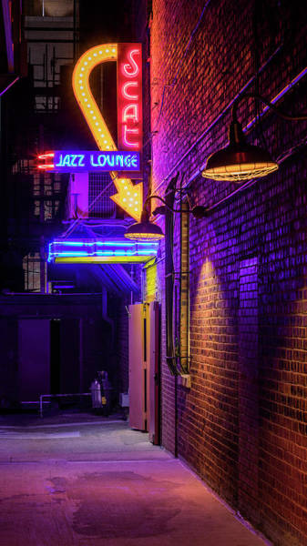 Wall Art - Photograph - Scat Jazz Alley by Stephen Stookey