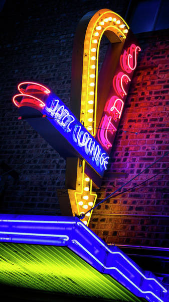 Wall Art - Photograph - Scat Jazz Lounge - #1 by Stephen Stookey