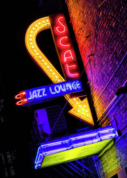 Wall Art - Photograph - Scat Jazz Lounge - #2 by Stephen Stookey