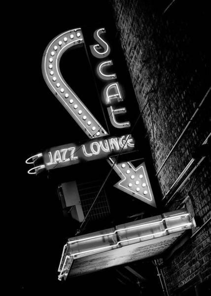 Wall Art - Photograph - Scat Jazz Lounge - #3 by Stephen Stookey