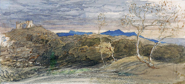 Wall Art - Painting - Scene In Wales - Digital Remastered Edition by Samuel Palmer