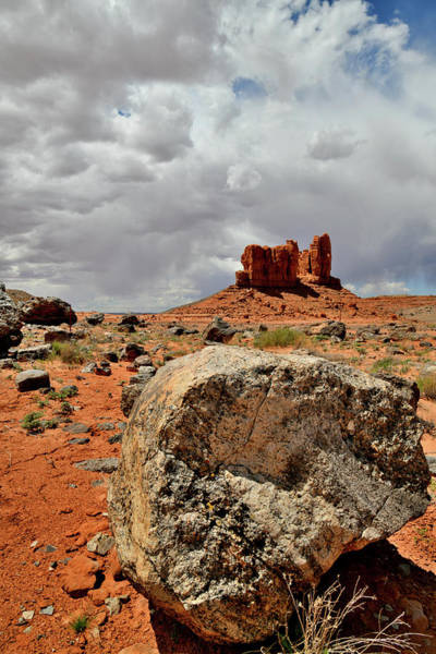 Photograph - Scenic Byway 191 In Southern Utah by Ray Mathis