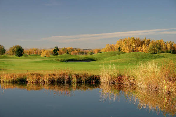 Golf Photograph - Scenic Calgary Golf Course In Fall by Imaginegolf