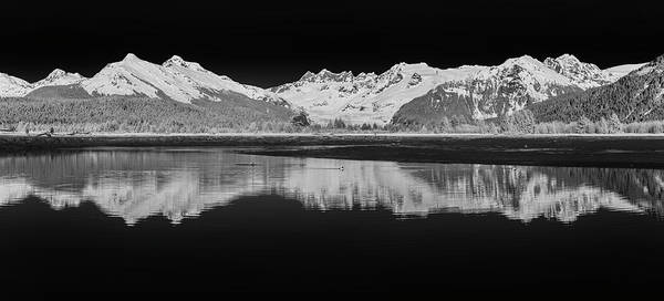 Wall Art - Photograph - Scenic Infrared Of Reflections by John Hyde