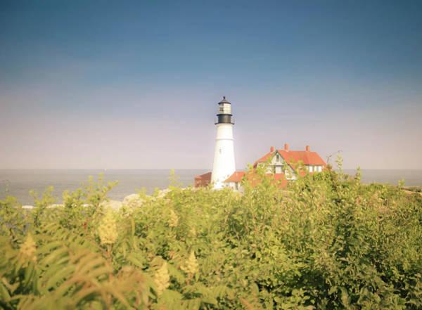 Wall Art - Photograph - Scenic Portland Headlight Lighthouse  by Debra Forand