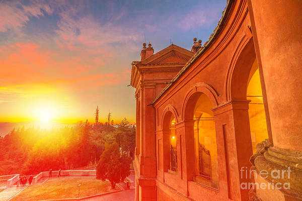 Photograph - Scenic San Luca Sanctuary by Benny Marty