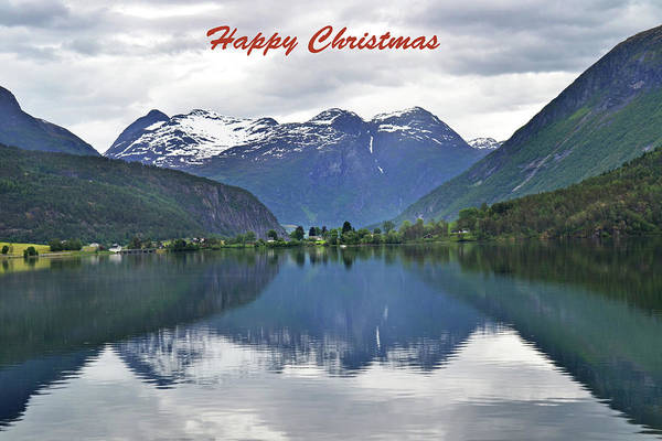 Wall Art - Photograph - Scenic Stryn Norway by Terence Davis
