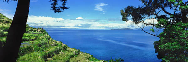 Wall Art - Photograph - Scenic View Of Lake Titicaca, Sun by Panoramic Images