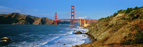 Wall Art - Photograph - Scenic View Of The Golden Gate Bridge by Panoramic Images