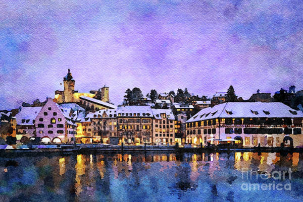 Rhine River Photograph - Schaffhausen by DiFigiano Photography