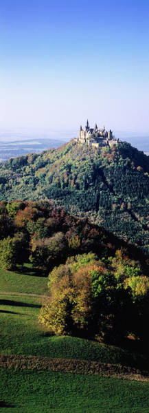 Photograph - Schloss Hohenzollern On Top Of Hill by Thomas Winz