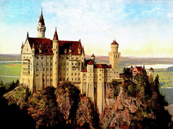 Photograph - Schloss Neuschwanstein by Carlos Diaz