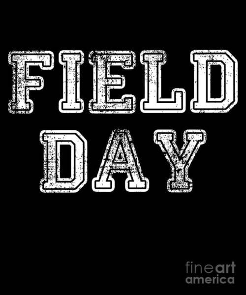 Digital Art - School Field Day by Flippin Sweet Gear