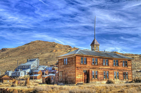 Wall Art - Photograph - School House And Standard Mine by Donna Kennedy