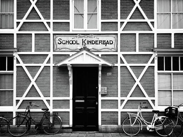 Photograph - School Kinderbad - Amsterdam by Georgia Fowler