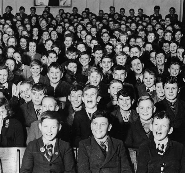 Laughing Photograph - School Play by Fred Morley