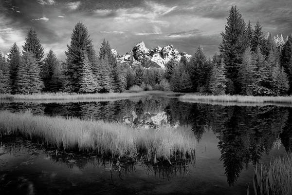 Photograph - Schwabacher Dawn II by Jon Glaser