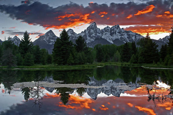Photograph - Schwabacher Landing Sunset by Ronnie and Frances Howard