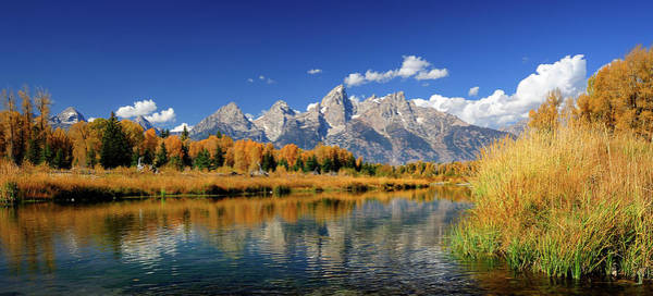 Schwabacher Photograph - Schwabachers Landing - Grand Teton by By Saravanansuri