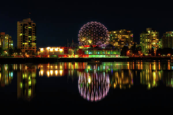False Creek Wall Art - Photograph - Science World by Chris Fletcher
