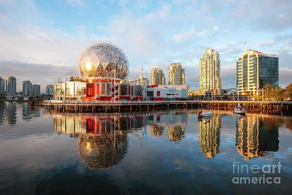 Wall Art - Photograph - Science World, False Creek, Vancouver by Matteo Colombo
