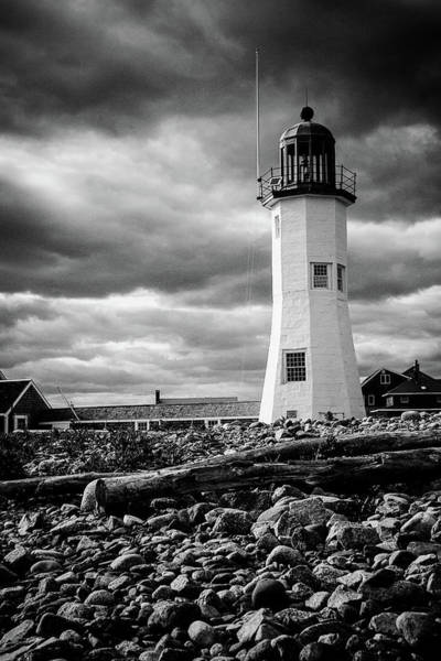 Photograph - Scituate In Black And White by Jeff Folger