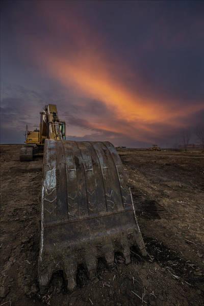 Photograph - Scoop by Aaron J Groen
