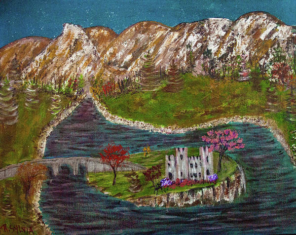 Painting - Scotland by Randy Sylvia