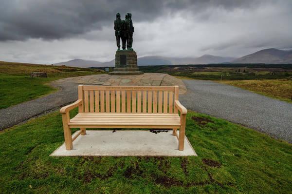 Wall Art - Mixed Media - Scottish Commando Monument by Smart Aviation