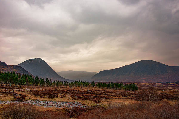 Photograph - Scottish Highland Landscape - Glen Coe by Bill Cannon