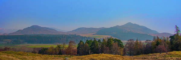 Photograph - Scottish Highland Panorama by Bill Cannon