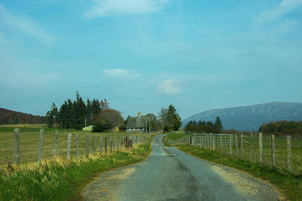 Photograph - Scottish Highlands - Farm Road by Bill Cannon