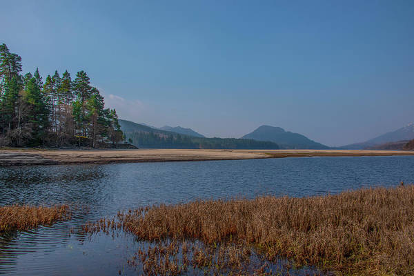 Photograph - Scottish Highlands - Loch Laggan Landscape by Bill Cannon