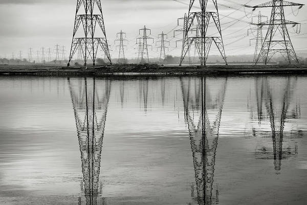 Electricity Generation Photograph - Scottish Power by Billy Currie Photography