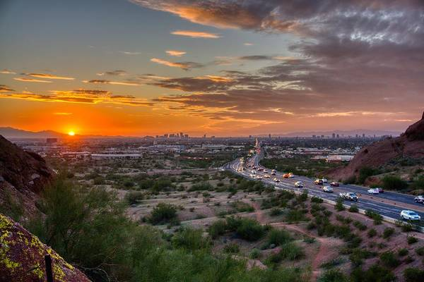 Scottsdale Sunset Art Print