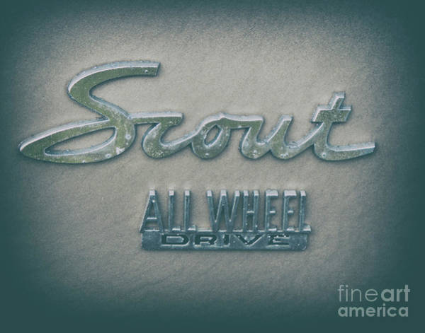 Photograph - Scout All Wheel Drive - Vintage by Dale Powell