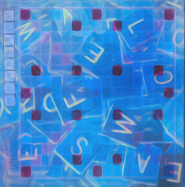 Mixed Media - Scrabble Art by Dan Sproul