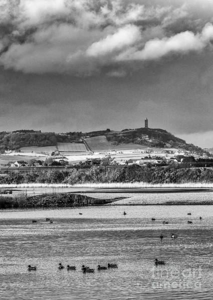 Photograph - Scrabo Tower Bw by Jim Orr