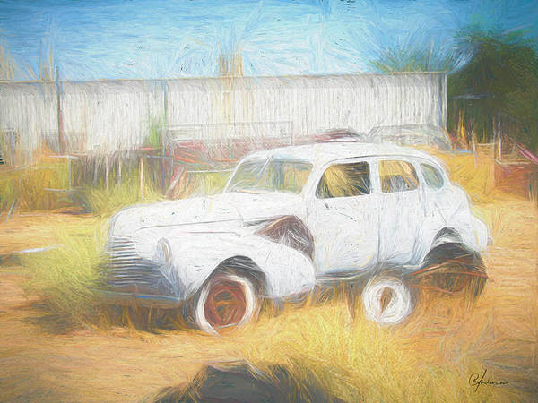 Digital Art - Scrap Car Vii by Per Andersson