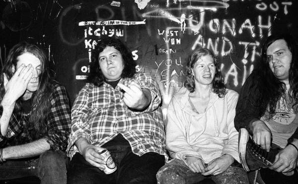 Photograph - Screaming Trees Back Stage Fulham by Martyn Goodacre