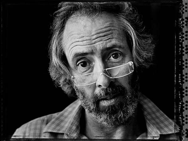 Scriptwriter Photograph - Screen Writer Robert Towne Portrait by George Rose