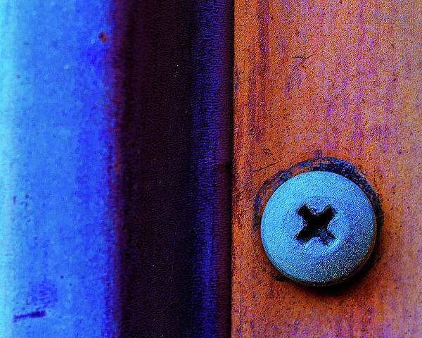 Photograph - Screw Abstract by John Rodrigues